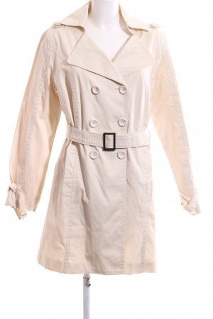 Bleifrei Trench Coat cream business style