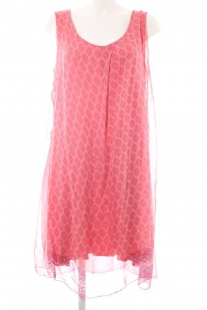 Bleifrei Flounce Dress pink-magenta embellished pattern casual look