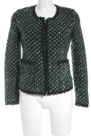 Bleifrei Chaqueta de lana estampado príncipe de Gales look casual