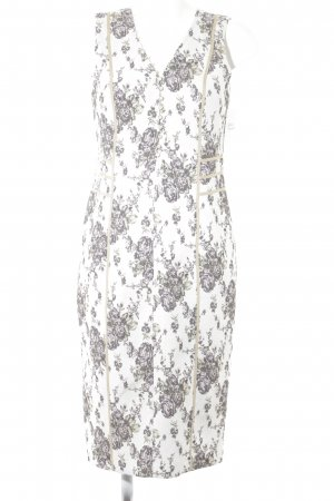 Falda estilo lápiz estampado floral elegante