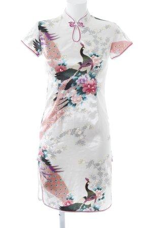 Robe crayon motif floral élégant