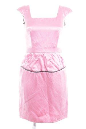 Abito longuette rosa-grigio chiaro effetto bagnato