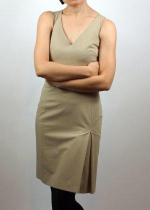 Bleistiftkleid von Hennes, Größe 34, beige