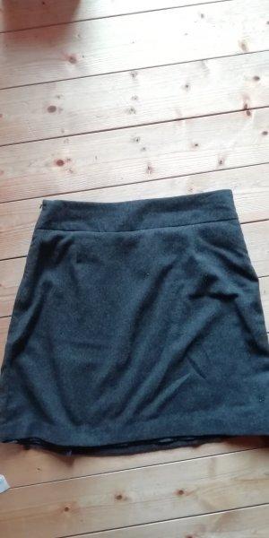 Blue Motion Falda de tubo gris oscuro-gris antracita