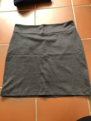 Blue Motion Pencil Skirt dark grey