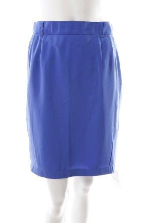 Jupe crayon bleu style simple