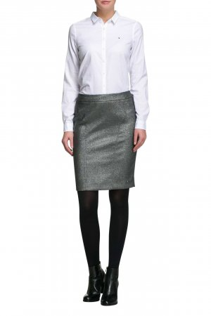 Tommy Hilfiger Pencil Skirt dark grey-grey