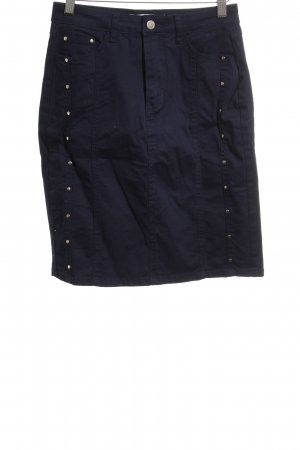 About You Pencil Skirt dark blue casual look