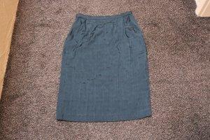 #Bleistiftrock, Gr. 40, #grau-dunkelgrün, #NEU, #Pattys Pants by Markert