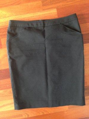 Kiomi Falda de tubo negro Algodón