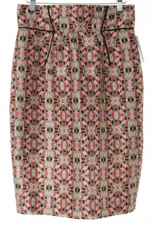 Pencil Skirt graphic pattern Ornamental trimming