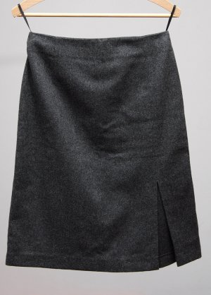 Orsay Pencil Skirt anthracite wool