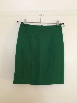 Bleistiftrock, grün, H&M, Gr. 38