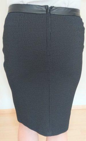 Orsay Jupe crayon noir tissu mixte