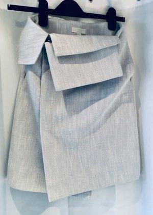 COS Pencil Skirt pale blue cotton