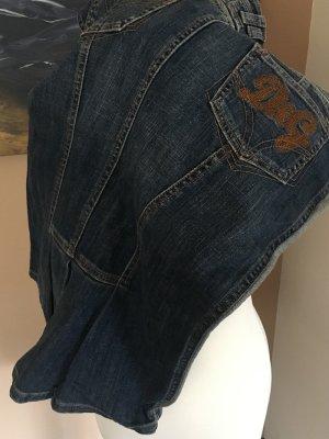 Bleistiftrock von D&G, Jeansmaterial, Knielänge