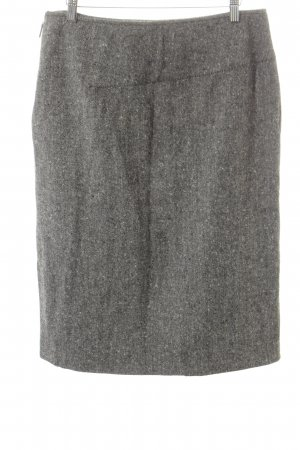 Pencil Skirt white-black flecked business style