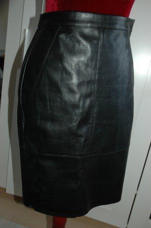 Asos Jupe en cuir synthétique noir