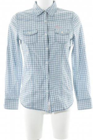 Blend Blusa-camisa estampado a cuadros look casual