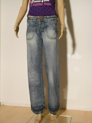 Blend Low Rise Jeans blue