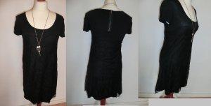 Blend Kleid schwarz Spitze S 36 38 Abi Party Partykleid Disco