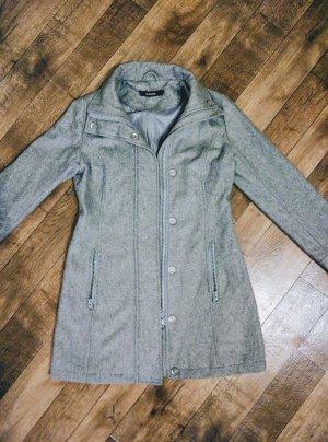 BlendShe Abrigo de lana gris