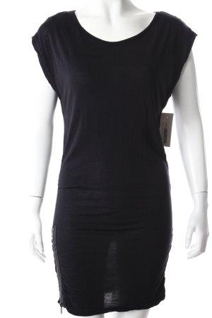 Blend Shirtkleid schwarz