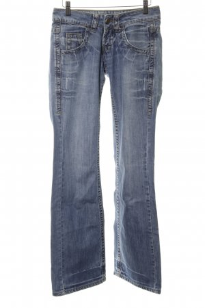 BlendShe Boot Cut Jeans blau Casual-Look