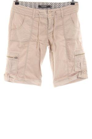 BlendShe High-Waist-Shorts cream casual look