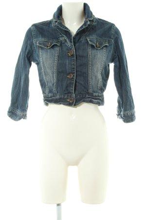 BlendShe Denim Jacket blue casual look