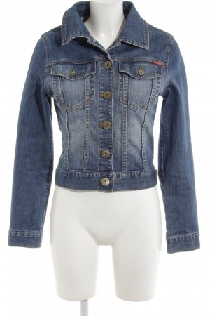 BlendShe Jeansjacke blau Casual-Look