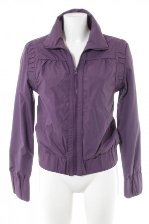 BlendShe Raincoat lilac-pink casual look
