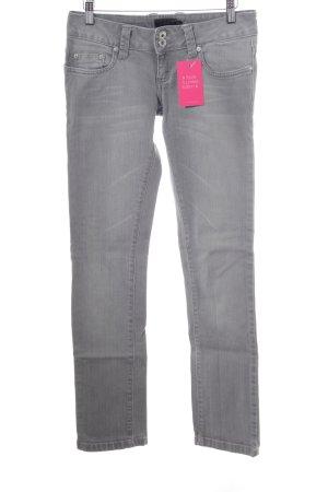 BlendShe Skinny Jeans hellgrau Casual-Look