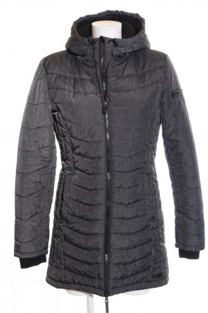 BlendShe Quilted Coat light grey casual look