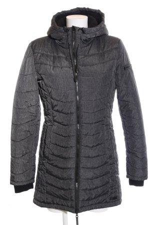 BlendShe Manteau matelassé gris clair style décontracté