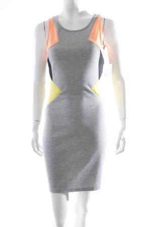 BlendShe Stretchkleid mehrfarbig Casual-Look