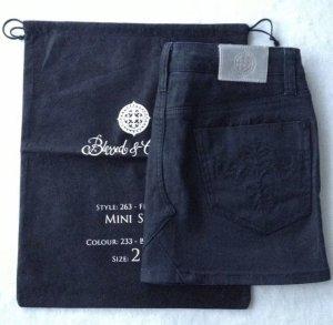 Blessed & Cursed Jeans Rock, Minirock, 25, 34, XS schwarz