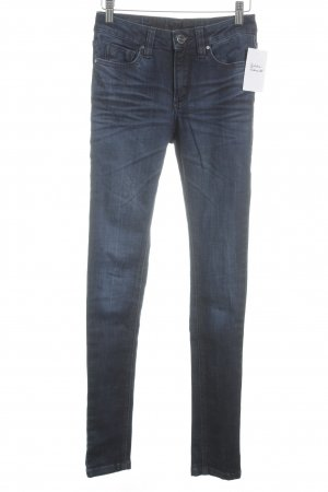 Blessed & Cursed Vaquero skinny azul oscuro look casual