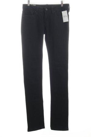 Blessed & Cursed Skinny Jeans schwarz schlichter Stil