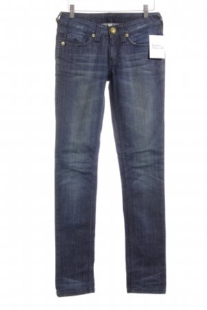 Blessed & Cursed Slim jeans blauw casual uitstraling