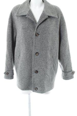 Bleyle Cappotto in lana grigio puntinato stile casual