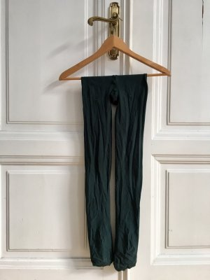 Blickdichte Nylonstrumpfhose dunkelgrün von TCM