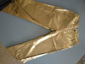 Fiorucci pantalón de cintura baja marrón arena Material sintético
