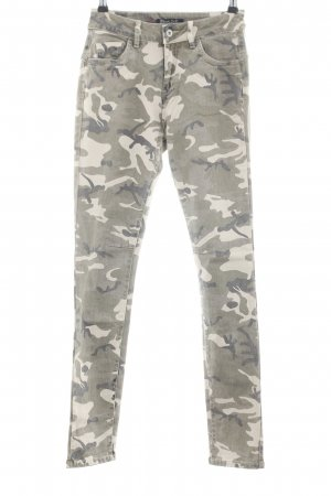 Blind Date Five-Pocket Trousers camouflage pattern casual look