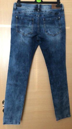 Blind Date Jeans a gamba dritta multicolore