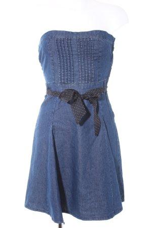 Blind Date Denim Dress blue casual look