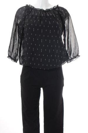 Blind Date Jumpsuit schwarz-weiß Elegant