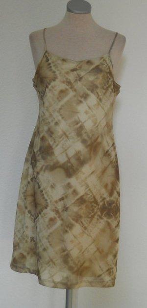 Blind date Minikleid kurz Gr. XL 40 42 batik grün hippie goa