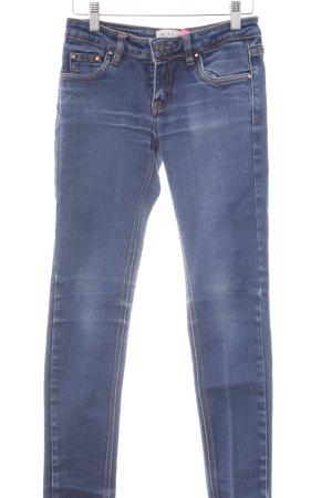 Blind Date Röhrenjeans blau Jeans-Optik