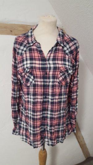 Blind Date Schlafhemd Holzfällerhemd Home Wear Größe XL